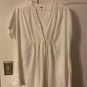 Ivory free people top. NWT